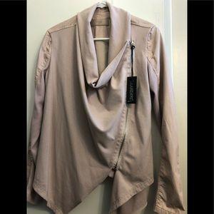 BlankNYC light pink jacket (brand new); size M